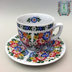 Filiżanka porcelanowa mocca