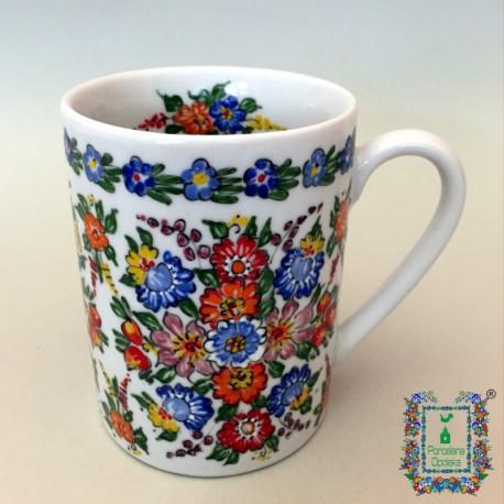Tradycyjny kubek porcelanowy 300ml