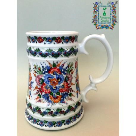 Kufel porcelanowy