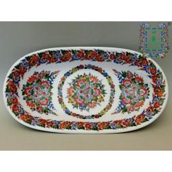 Półmisek porcelanowy podłużny