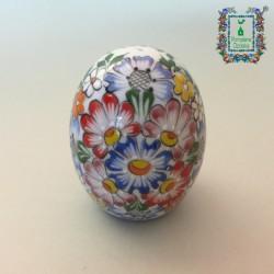 Porcelanowe jajko solniczka/pieprzniczka