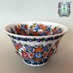 Porcelanowa miseczka na stopce