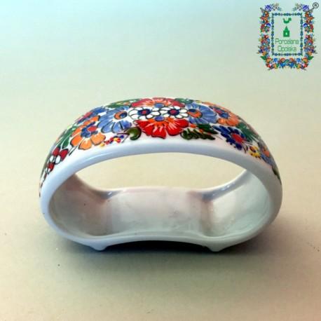 Porcelanowa obrączka do serwetki