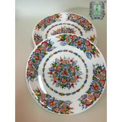 Talerz porcelanowy deserowy 19cm