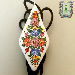 Wisiorek Porcelana Opolska (rąb)