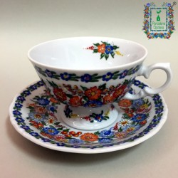 Filiżanka herbaciana z podstawką